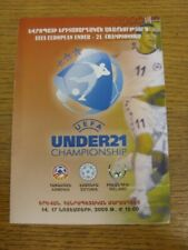 17/11/2009 Armenia U21 v Republic Of Ireland U21 & 14/11/2009 Estonia U21 [Joint