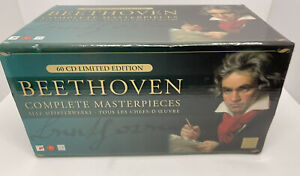 Beethoven Complete Masterpieces Limited Edition 60 CD Box Set RCA Sony Arte Nova