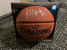 JALEN GREEN signed auto Spalding NBA Replica Basketball PROLIFIC PREP Proof