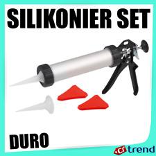 Silikonpresse Silikonier-Set Silikonpistole Acryl Kartuschenpresse 5 tlg. <310ml