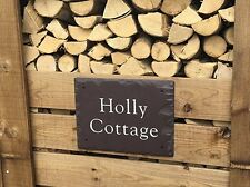 Large Rustic Welsh Penryhn Slate Sign 400mm x 300mm By Scottish Slate Gift