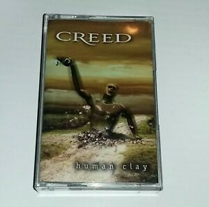 CREED Human Clay 1999 90's Rock Cassette Tape