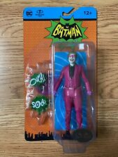 MCFARLANE TOYS DC '66 BATMAN CLASSIC TV SERIES PLATINUM CHASE THE JOKER MASKED