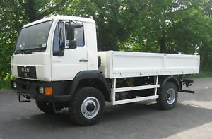 MAN LE 180 4X4 TRUCK, EX MOD / ARMY. IDEAL EXPEDITION CAMPER OUTSTANDING 10t GVW