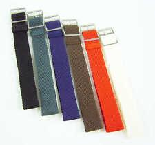 Uhrarmband Uhrenband Militär Wechselarmband Nylon Band Uhrband Perlon 8-20,22 mm