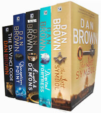 Dan Brown Collection 5 Books Set