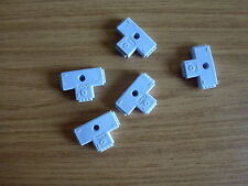 15 x 10mm female 4 pin T shaped connector for led strip light RGB5050 3528