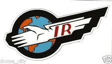 Thunderbirds I.R. Sticker / Gerry Anderson TB2 TB1 International Rescue IR TB3