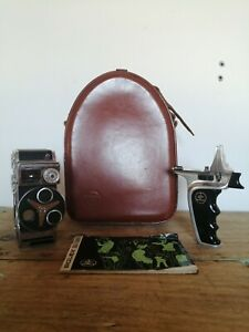 Vintage Bolex D8LA Cine Camera & Accessories-VGC!