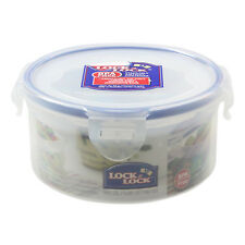 Lock & Lock 600ml Stackable High Quality Round Container Airtight Food Storage