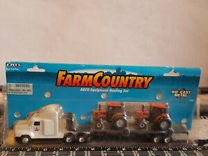 Ertl Farm Country Agro Equipment Hauling Set 1/64 diecast replica collectible