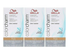 Wella Color charm 3x T11 Lightest Beige Blonde Hair Toner