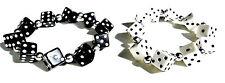 Würfelarmband Dices Rockabilly Gambling Bracelet Würfel Armband  2 STÜCK 1 PREIS