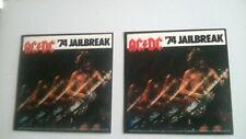 "2x AC/DC 74"" Jailbreak official stickers."