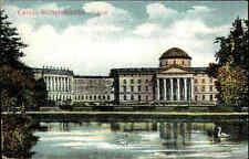 Cassel Kassel Hessen 1913 alte color Postkarte Schloss Wilhelmshöhe ungelaufen