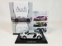 1:64 Kyosho Audi Minicar Collection 2 R8 LMS FIA GT Presentation Car 2009 Silver
