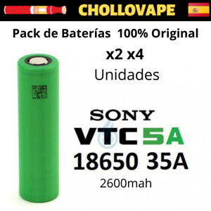 Pack Baterias - SONY VTC5A