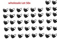 50X Wholesale Lot Cloth Reusable Washable Face Cover Men Women Protective New