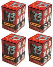 KIDROBOT BRANDT PETERS THE 13 GID DUNNY MINI VINYL SEALED 4 PACK BOX LOT TY232