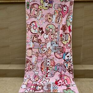"Tokidoki pink swimming towel bath towels beach towel 27x55"" Washcloths cool"