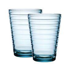 Iittala Aino Aalto Trinkglas - 33 cl - hellblau - 2erSet
