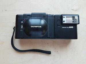 Olympus XA 35mm F2.8 Compact Rangefinder Film Camera w/ A16 Flash