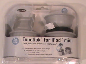 Belkin F8E485 TuneDok for iPod Minis New in Plastic Sealed Container