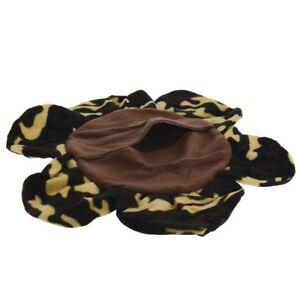 Marshall Mascota Hurón Camuflaje Krackle Dormir Saco Forro Polar Cama Den Mp #