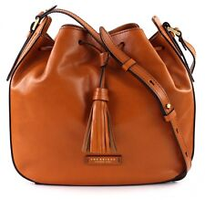 THE BRIDGE Sac À Bandoulière Bucket Bag Cognac
