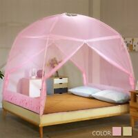 150/180CM Mongolian Yurt Foldable Mosquito Net Bedding Prevent Insect 2 Door .