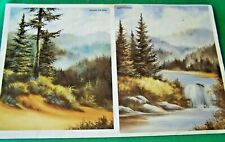 COUNTRYSIDE REFLECTIONS V17 LANDSCAPES IN OIL SUSAN SCHEEWE 1986 TOLE PAINT