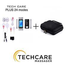 TECHCARE PLUS 24 MODES TENS UNIT + HARD TRAVEL CASE