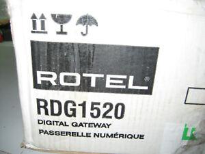 Rotel RDG-1520 Tuner (Audio PC Streaming) , UVP: 1200,- €