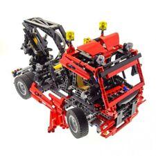1 x Lego Technic Set Model for 8436 Truck Red Pneumatic Crane Wagon Technology