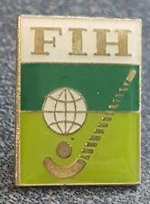 2016 Rio Olympic FIH  FEDERATION OF INTERNATIONAL HOCKEY + Field  pin