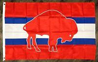 Buffalo Bills Retro Man-Cave NFL Flag 3x5 ft Sports Football Banner Garage Bar
