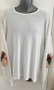 BURBERRY BRIT L/S T SHIRT SIXE XXL IN GOOD CONDITION