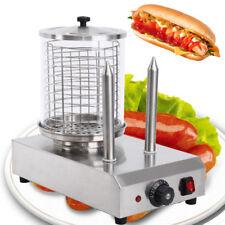 Chauffe saucisses en acier inoxydable pour hotdog Bockwurstwärmer 30-110 ° C