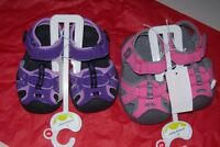 GIRLS JUMPING BEANS Sandals PINK OR PURPLE MSRP$29.99 MULTI SIZES NEW WITH TAG