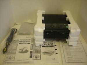 Canon CD 200 Digital Photo Thermal Direct Camera w/o Computer Printer LN MINT