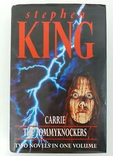 Stephen king Carrie & Tommyknockers 2 Novels in 1 Hardback 1994 First Edition