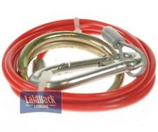 Maypole Quality BREAKAWAY CABLE PVC RED *1M x 2MM* CARAVAN & TRAILER MP498B