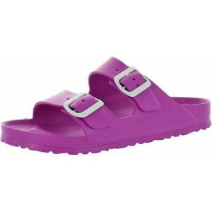 Birkenstock Womens Arizona Purple Eva Slip On Footbed Sandals Shoes 41 BHFO 2766