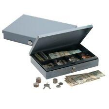 "Office Depot Brand Ultra-Slim Cash Box With Security Lock, 2""H x 11 1/4""W x 7 1"