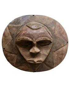 Festac Tribal Art-- Old Teke Kidimi  Mask -- Congo-- Fes-1154