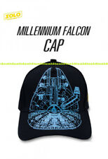 SOLO A Star Wars Story authentic baseball CAP Glow in the dark Millennium Falcon