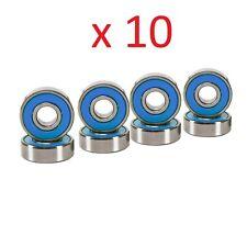 Abec 7 Skateboard Bearings for Deck and Hardware 10 Set of 8 Pcs Blue