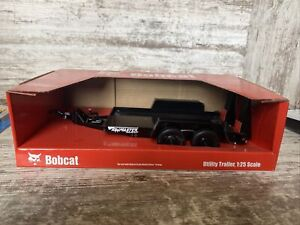 1/25th Scale Bobcat Towmaster Utility Trailer Die Cast Replica