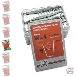 W-FIX 4 Schneideklingen 9-10 RUBBER CUT Rillcut Profilschneidmesser W4 5642889