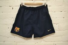 VINTAGE BARCELONA SPAIN FOOTBALL SOCCER SHORTS 2001/2003 NIKE MENS M